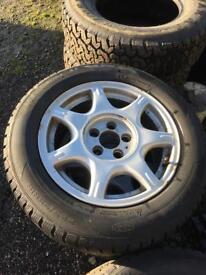 Vauxhall Omega Alloy Wheels and Tyres