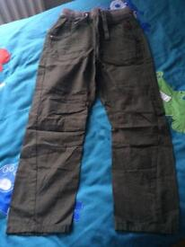 Brand new boys combat trousers