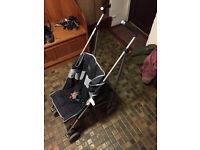 lightweight 'Bruin' pushchair / buggy