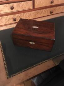 Victorian Rosewood? trinket box