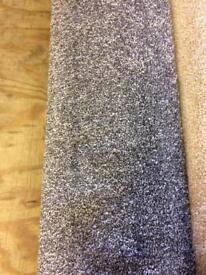 New deep pile carpet.
