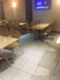 Restaurant/bistro/coffee shop contract chairs c