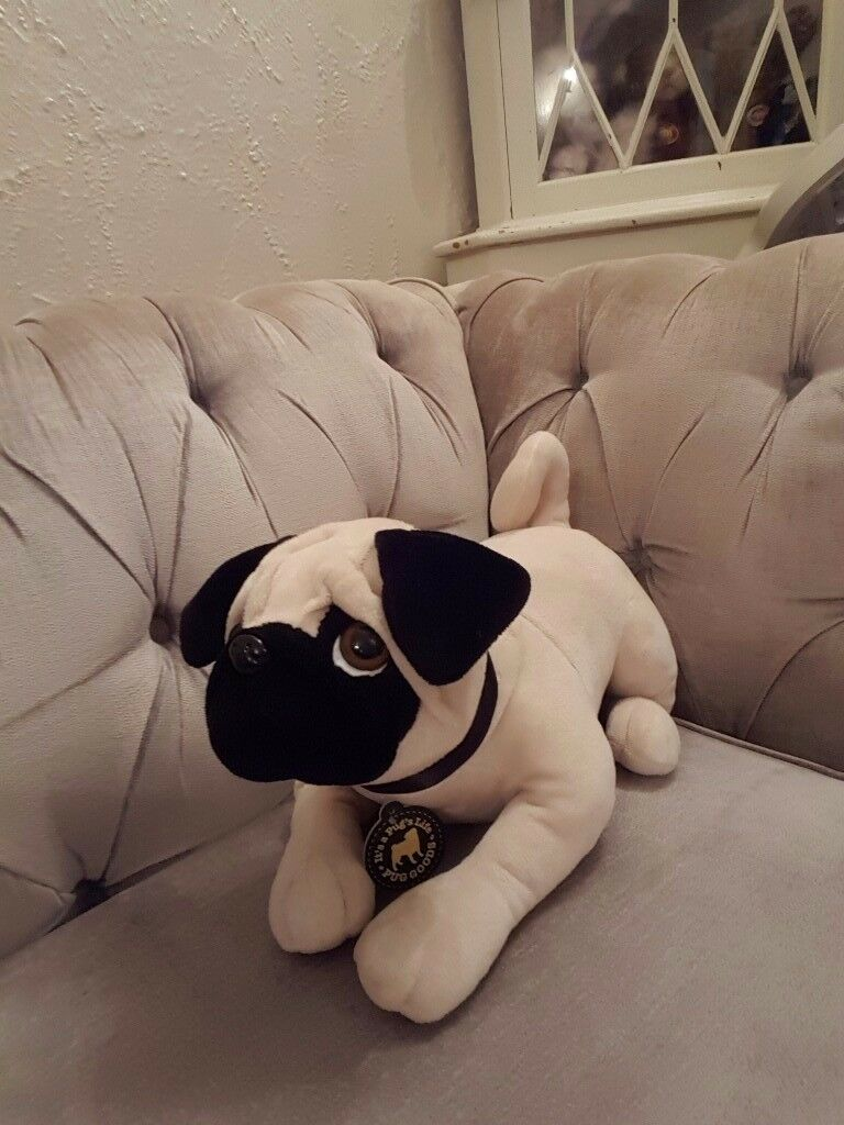 Life Size Pug Plush Toy New With Tags In Walsall West Midlands