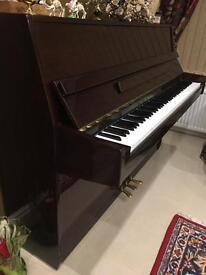 W. Streicher upright piano (E. Germany)