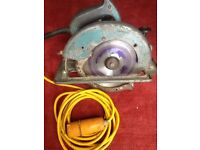 110v heavy duty saw In good working order