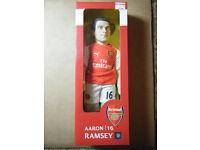 "Official Licensed product of Arsenal FC ""AARON RAMSEY"" 45cm Sports Doll. New item"