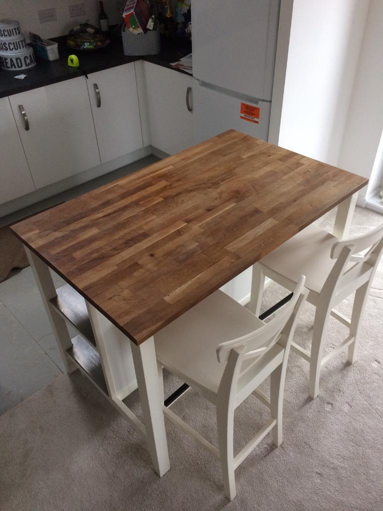 Ikea freestanding kitchen island bench breakfast bat