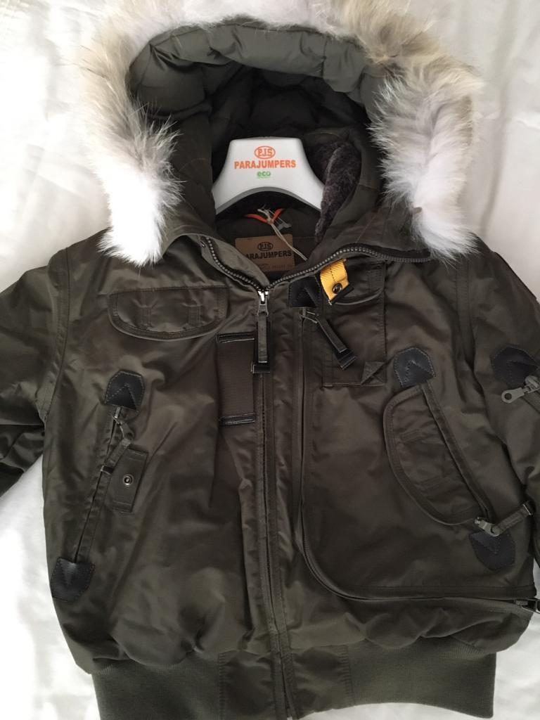 parajumpers gobi aviator age 12 brand new with tags paid 449