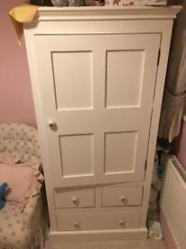Small wardrobe with draws