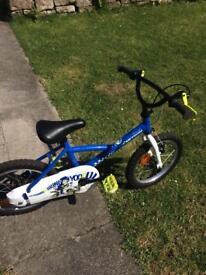 """16"""" Blue Bike"""