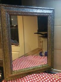 Gorgeous glitter mirror