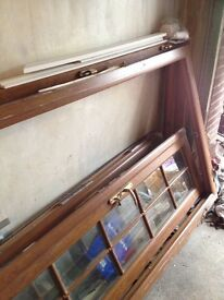 OFFERS CONSIDERED- UPVC French doors with frames four doors in total