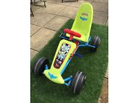 For sale, Disney Toy Story Buzz Lightyear outdoor ride on pedal car