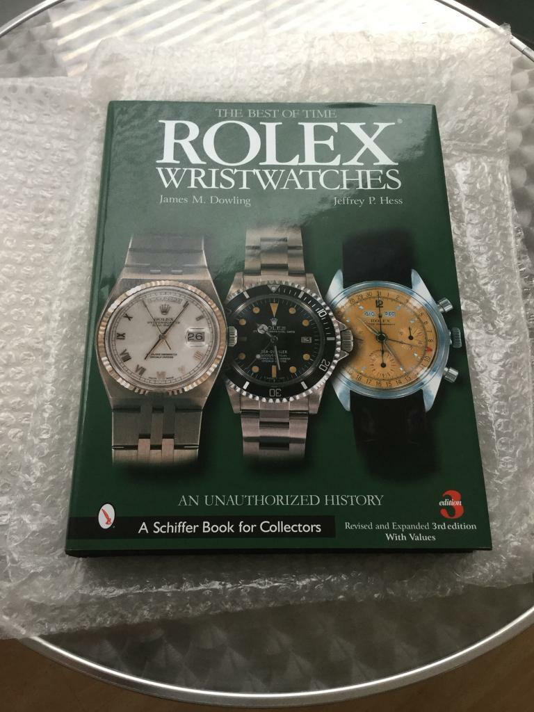 Genuine Rolex best of time book