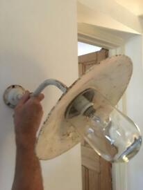 ANTIQUE FRENCH WALL MOUNTED LIGHT