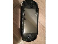 PSP with 4GB memory card