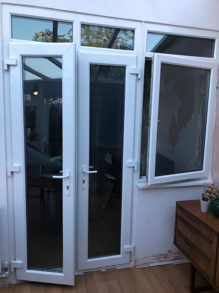 Double Upvc Patio French Doors Window In Portsmouth Hampshire