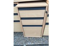 Filing cabinet / drawers with key