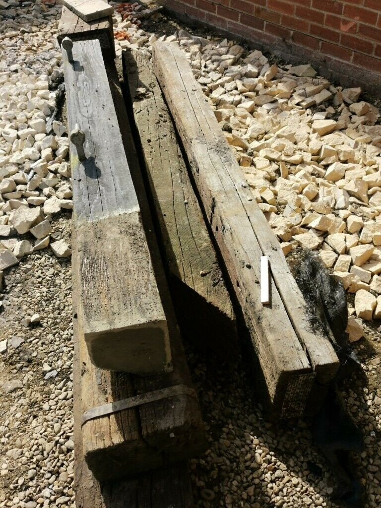 old reclaimed railway sleepers SOLD | in Oxford ...