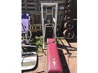 165 Kg Bench Press Machine
