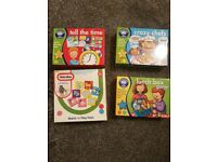 Set of 4 toddler games