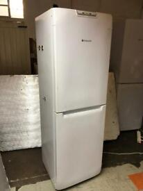 🚚🚚✅✅Tall Hotpoint Fridge Freezer For Sale Works Great Free Delivery Radius Apply✅✅