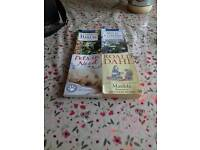 4 books (open to offers)