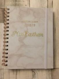 Personalised academic diary