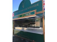 12ft high quality Catering Trailer / Burger Van