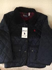 Girls 7-8 'Ralph Lauren' jacket