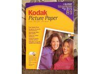 Kodak picture paper