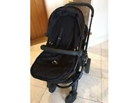 Icandy Peach 3 duo all black