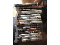 PlayStation 3 slim and 15 games