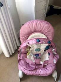 2 x Chicco baby bouncer