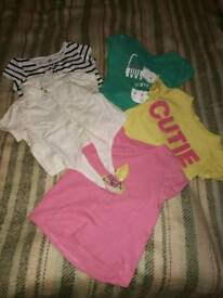 t-shirts fir sale, for girls, 3-4 years old