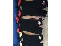 several kids shortie wetsuits