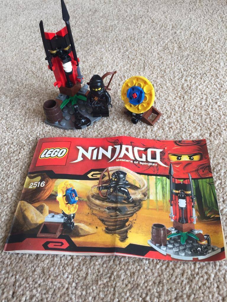 Lego 2516 Ninja Training Outpostin Maidstone, KentGumtree - Lego 2516 Ninja Training Outpost. In excellent condition. 1 x small dagger (4542586) missing but all other pieces present. Instructions in good condition. No box