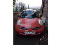 Nissan Micra 1.2 for sale in Maybole. Service history, MOT till March 2018, great first time car