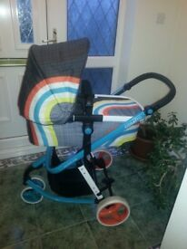 Cosatto giggles 2 buggy and carry cot very good condition.