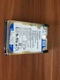 Western Digital Laptop 1TB Hard Drive + More Accessories