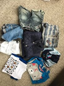 12-18 months twin boy baby clothes bundle