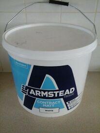 Armstead White Contract Matt 15litres