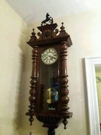 2 x Vienna Double Weighted Clocks
