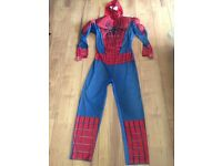 SPIDER-MAN COSTUME EXCELLENT CONDITION - SIZE CHEST 42-46 inches