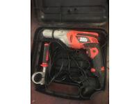 Black & Decker KR703K 710W Variable Speed Corded Hammer Drill 230 Volt.
