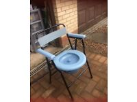 Portable commode in excellent condition