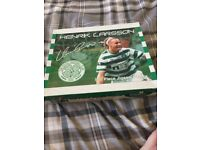 Henrik larrson Celtic F.C. jigsaw in box official product £6