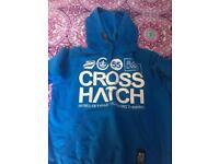 Cross Hatch hoodie