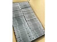 100 cd/dvd jewel cases
