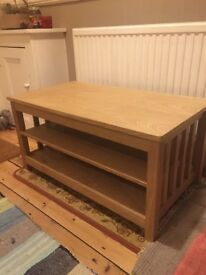 Solid TV unit table